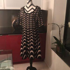 Dress...Bkack & Tan